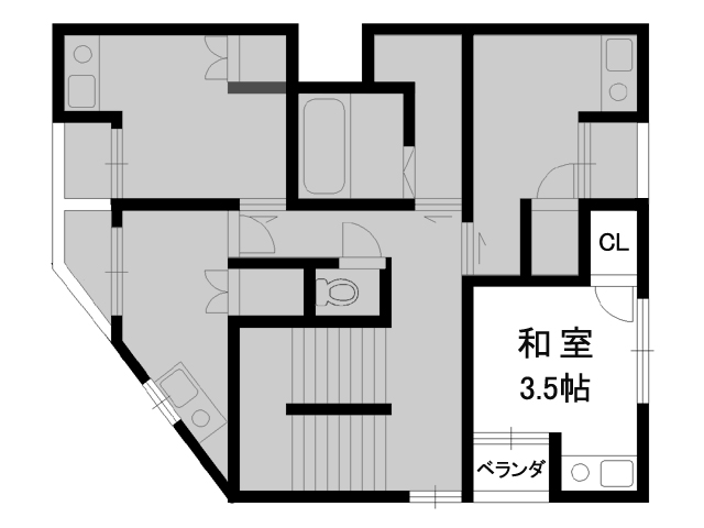 【賃貸】ウエストキャピタル 大正 401号室