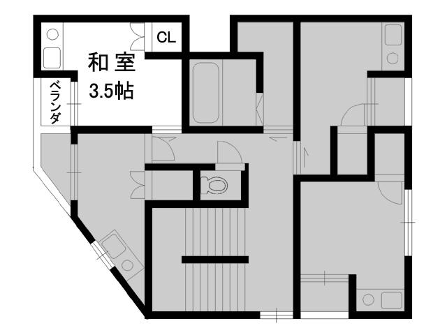 【賃貸】ウエストキャピタル 大正 403号室