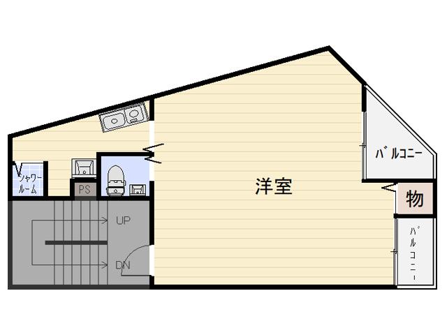 【賃貸】TUBAKI 天下茶屋 2F