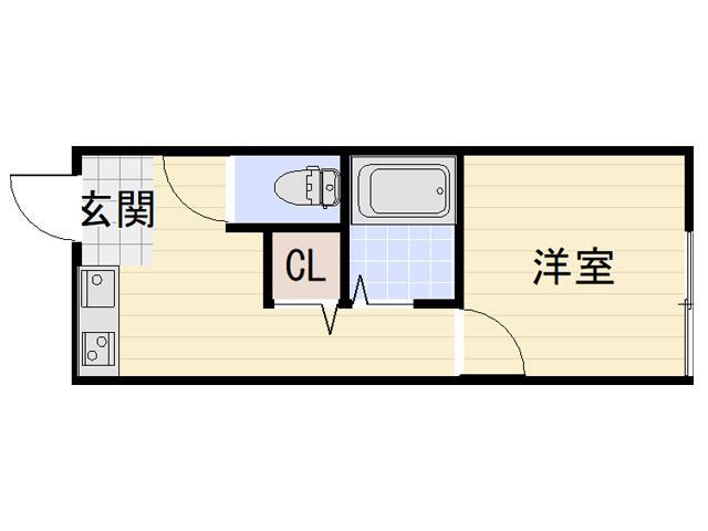 千本中ハイツ B2・B3号室