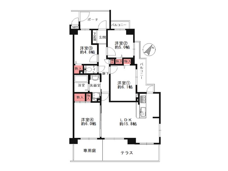 セントポリア豊中弐番館-110号