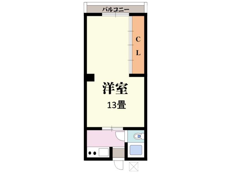 【賃貸】上野芝ハイツ 205号室