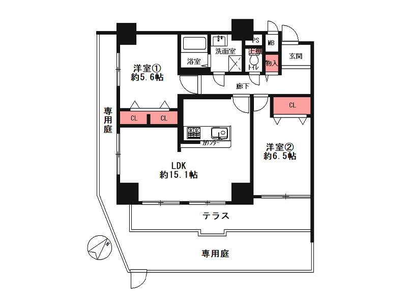 ストークマンション野田阪神-102号