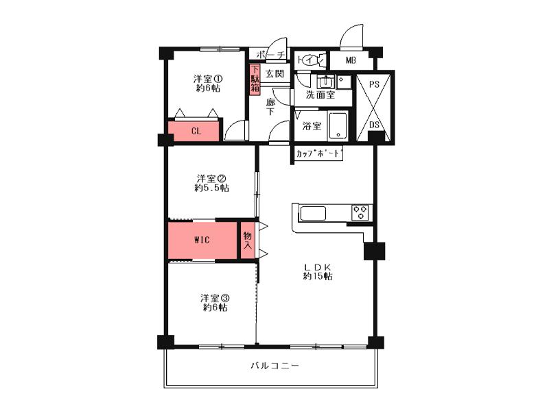 岡本ハウス-203号