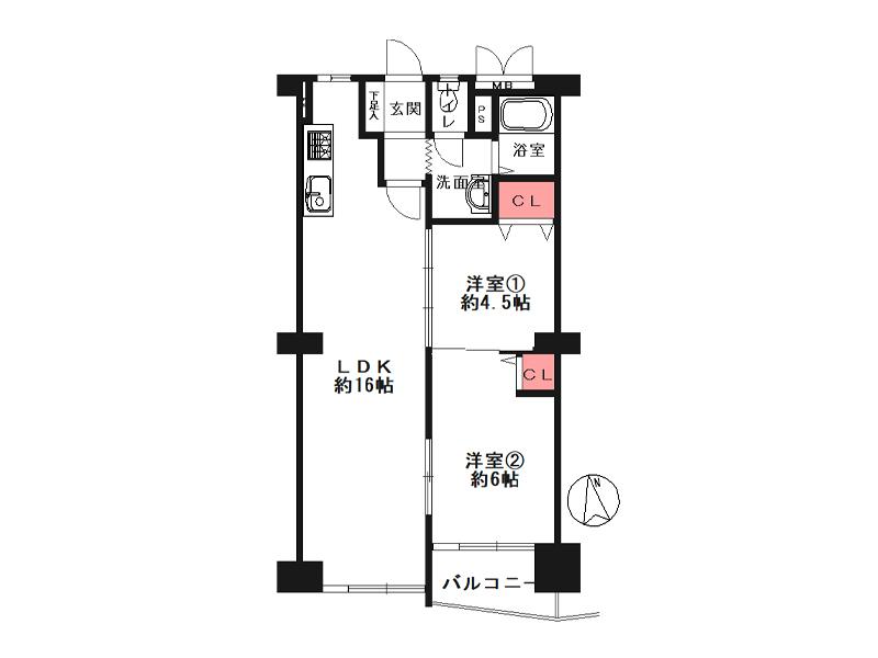 旭コーポA棟-1105号