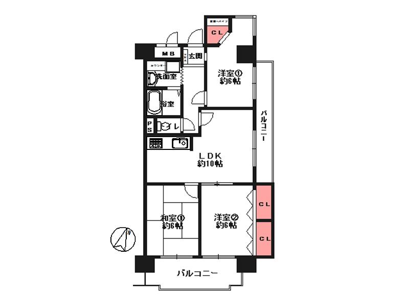 ノバカネイチ塚本-605号
