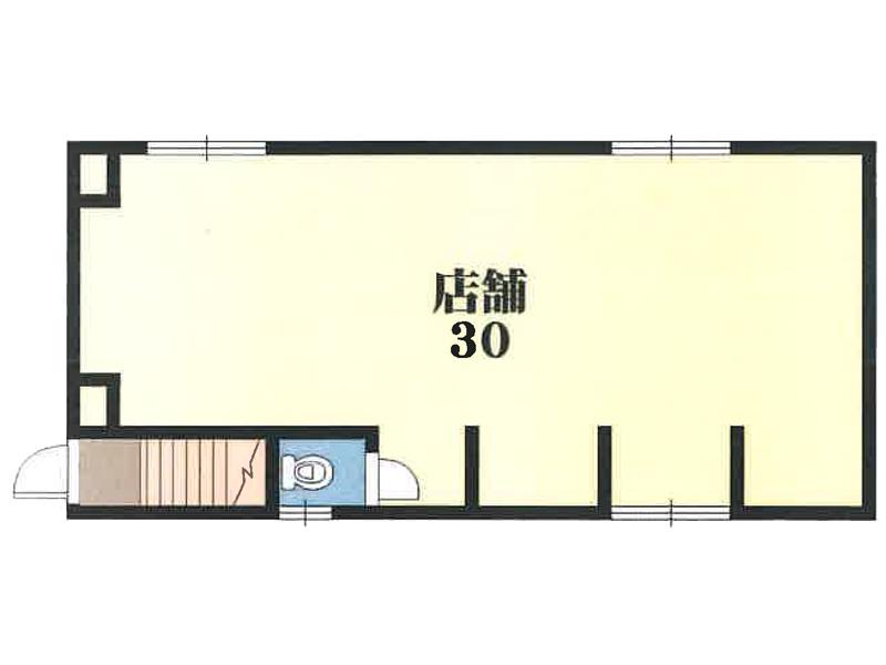 【賃貸】プリッ2α 長瀬 1F