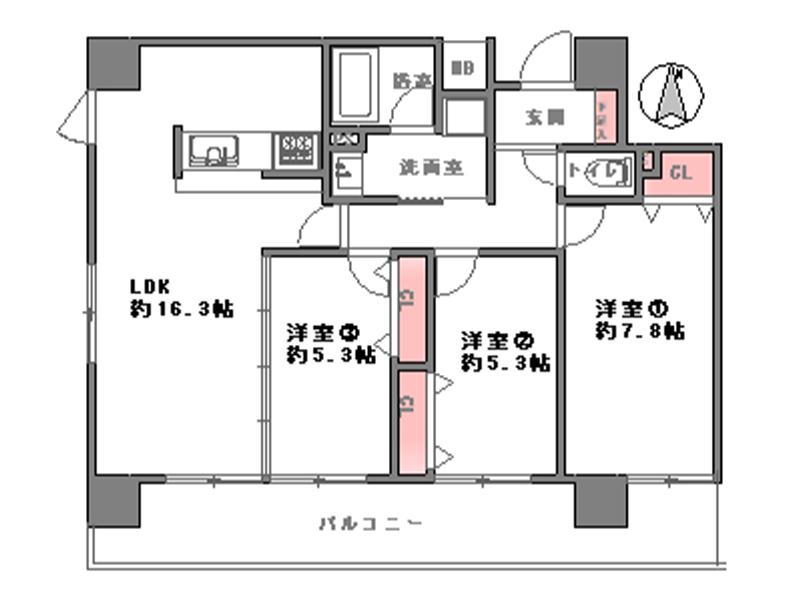 グラン・コープ東高麗橋-305号