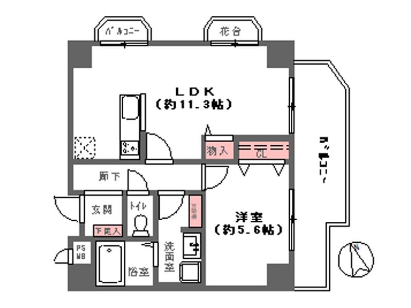ハイネス天王寺-904号