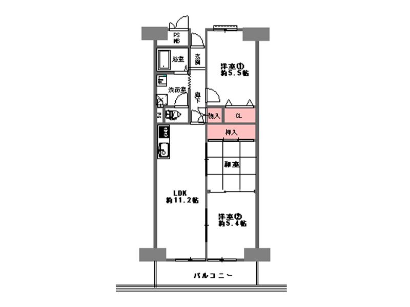 第三ガーデンハイツA棟-1310号