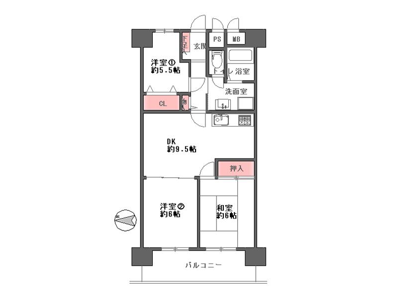 天満橋ハウス-202号