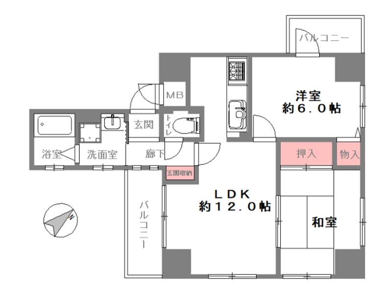 ローレル花隈-702号