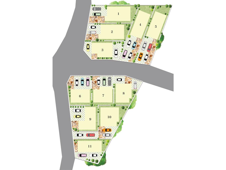 OrientCity 尾崎町 Part4 区画図