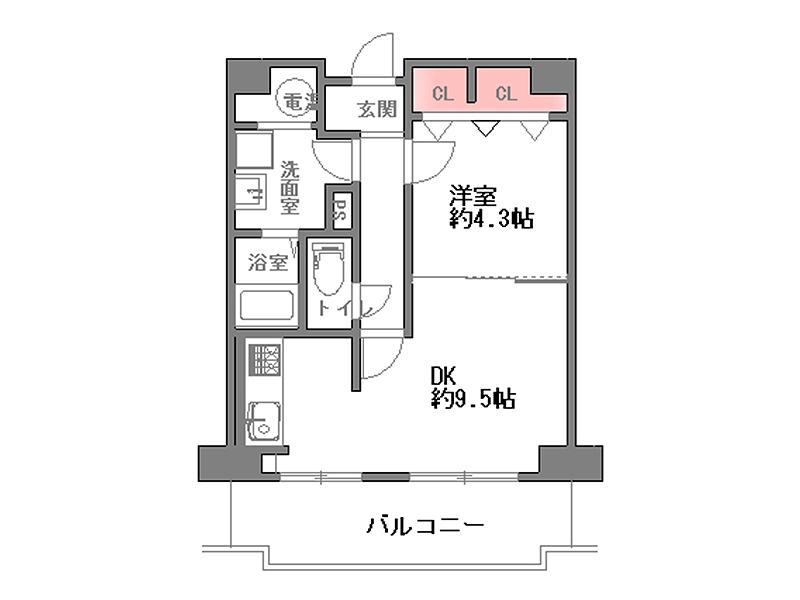 レック北梅田-1106号